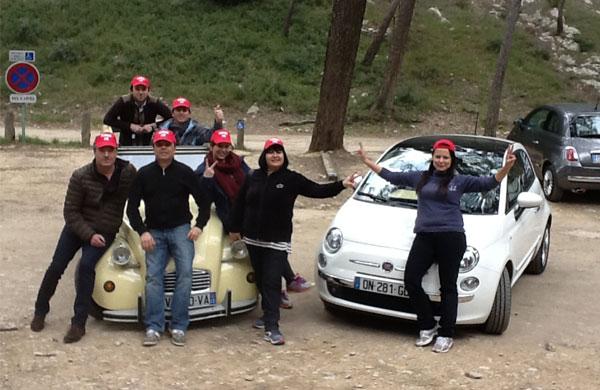 Rallye-huile-et-sens-2CV-vs-Fiat-500-8