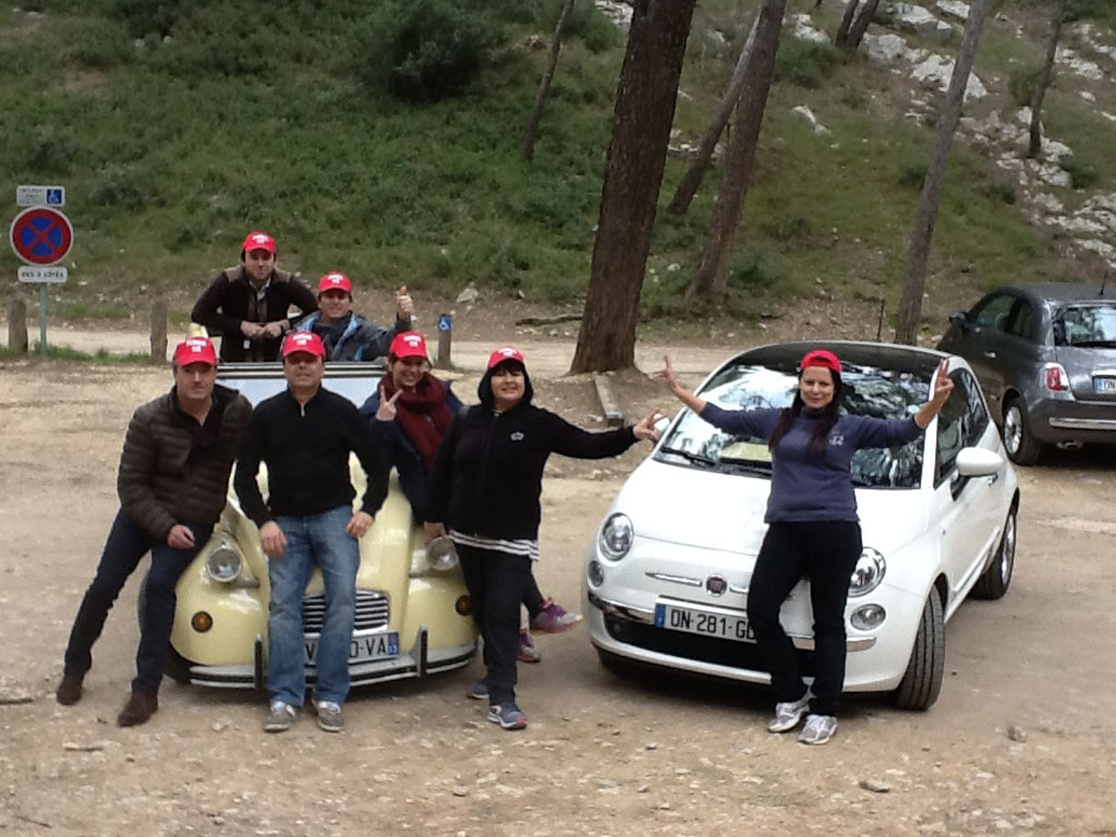 Rallye-huile-et-sens-2CV-vs-Fiat-500-6