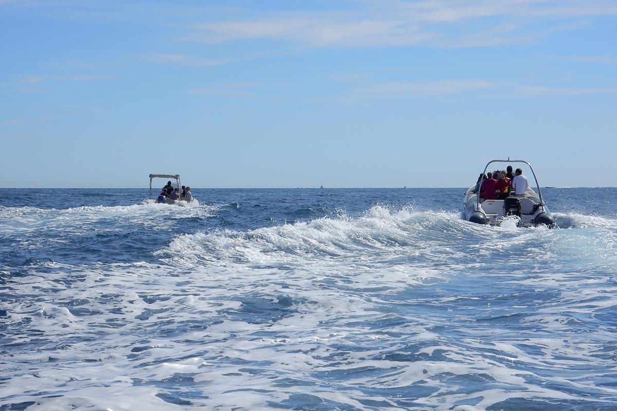 Team building bateau Zodiac Incentive Nice