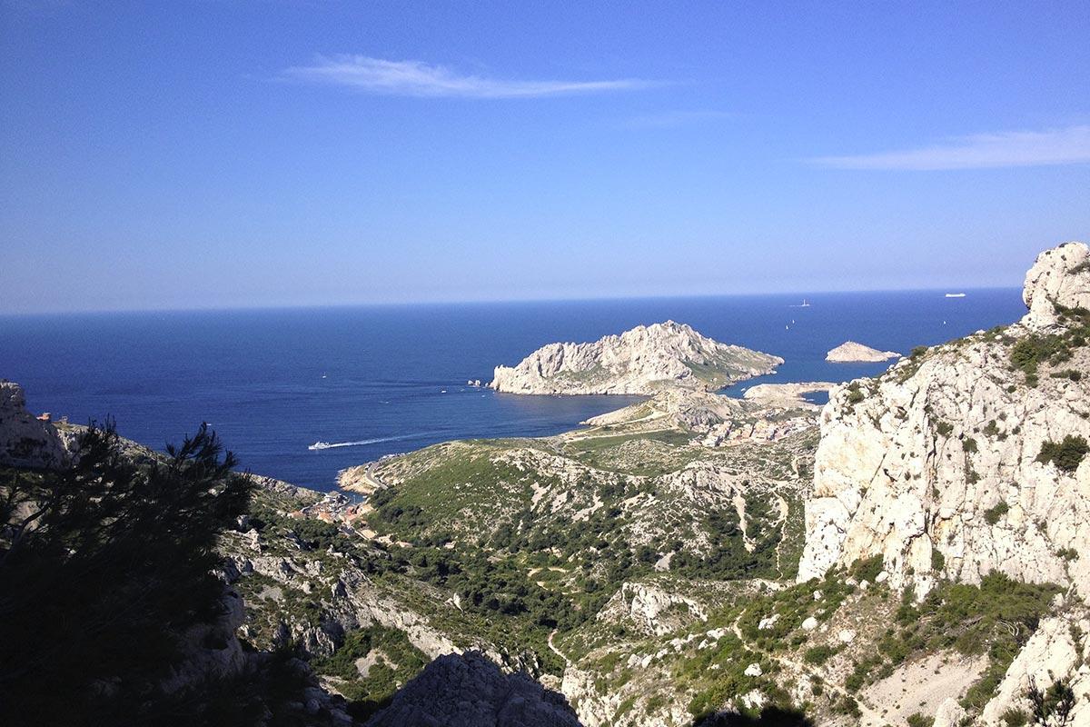 parcours pédestre tonique dans les Calanques