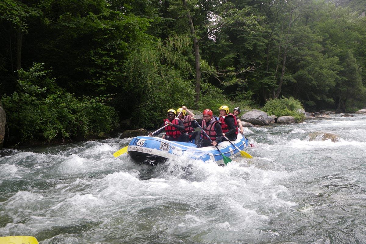 Rafting Canoe Descente de rivière Côte d'Azur