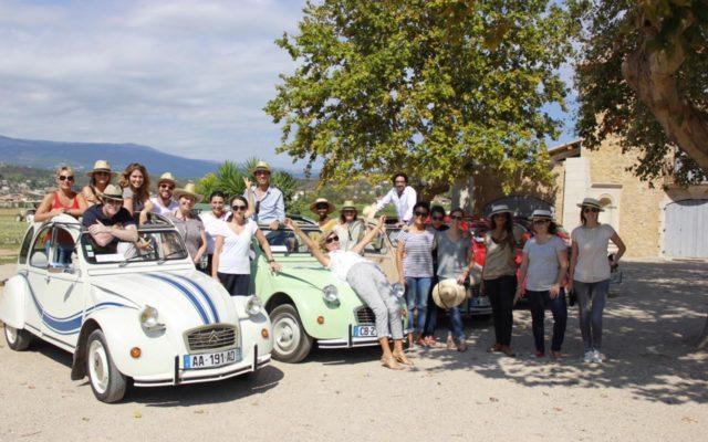 Huile & Sens Team building motorisé Côte d'Azur