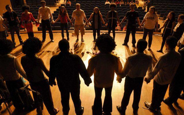 Match d'improvisation théâtre Team Building