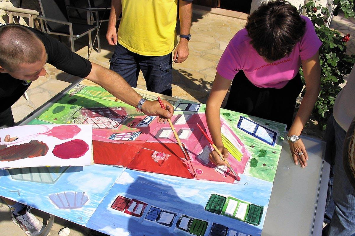 Team pain team building creative Côte d'Azur