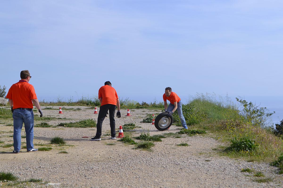 Team rally Championship en 2 CV Côte d'Azur