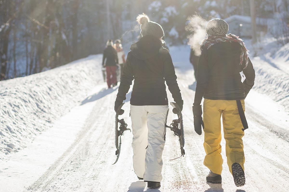 A la recherche du trésor glacé   Team building à la neige
