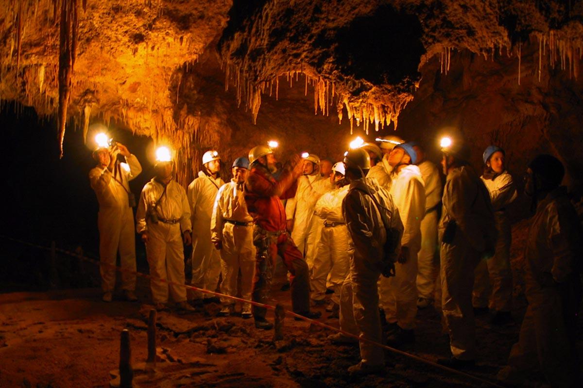 Voyage Souterrain  Team building spéléologie Nice