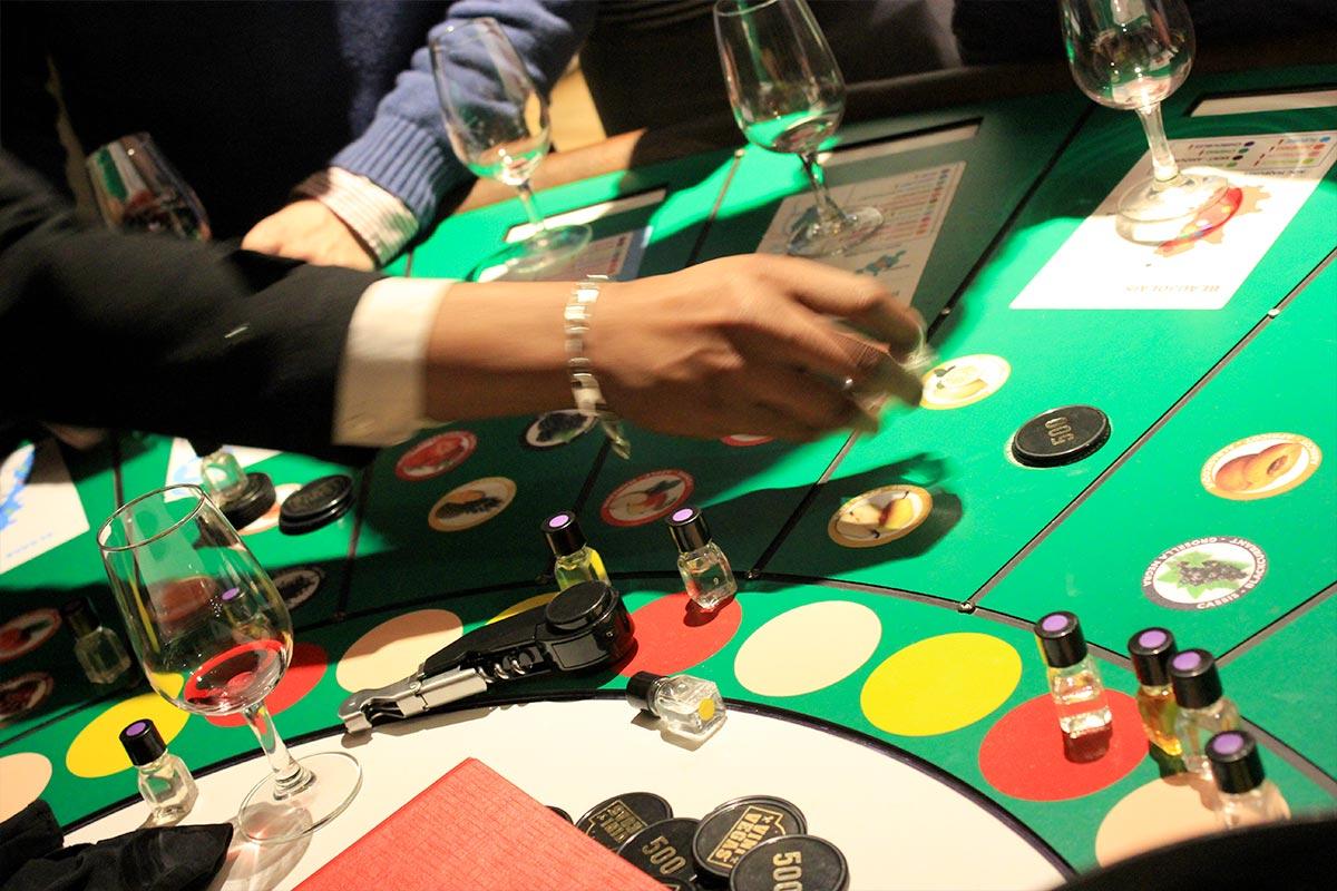 Casino des vins | Organisation de soirée d'entreprise